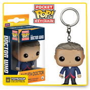 Doctor Who 12th Doctor Pocket Pop! Vinyl Figure Key Chain  ages 14 and up.