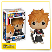 Isn't this Soul Reaper just adorable? The Bleach Ichigo Kurosaki Pop! Vinyl Figure features the main character of the popular anime. Standing about 3 3/4-inches tall, this figure is packaged in a window display box