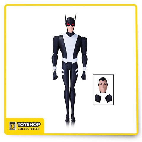 "The Justice League Gods & Monsters Batman 6 "" Action Figure design from the original animated movie of legendary animator Bruce Timm are brought to life as articulated figures ready for action! Each figure comes with multiple accessories and base!"