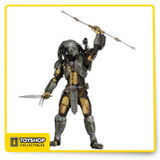 Series 14 of NECA's popular line of Celtic Predator action figures is here! addition to the mind-blowing level of articulation, the figures measure roughly 8 1/4-inches tall and come with character-specific gauntlets, armor, weapons, trophies, and other accessories! NECA paid close attention to detail to make these as accurate to the Alien vs. Predator movie as possible.