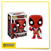 The Merc with a Mouth is invading the Pop! Vinyl line! This Deadpool Thumbs Up Pop! Vinyl Figure features the taco-lover giving a big thumbs up while holding a gun in his other hand. Standing about 3 3/4-inches tall, this figure is packaged in a window display box. Ages 14 and up