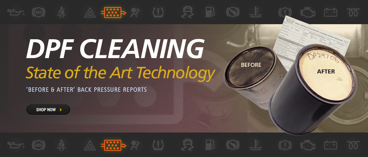 DPF Cleaning Services from Western Filters