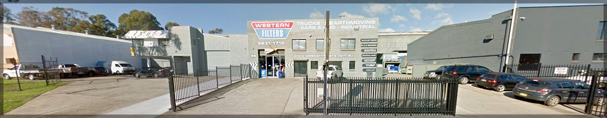 Western Filters premises 45 Forge Street, Blacktown NSW Aust.