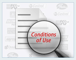 Western Filters Terms and Conditions