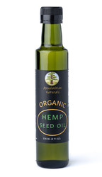 NEW!   Organic Raw Hemp Seed Oil