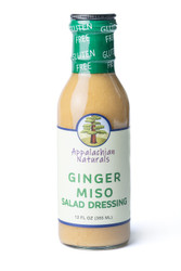 Ginger Miso Salad Dressing (Sugar-Free)