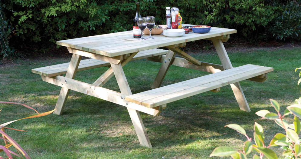 Rowlinson 4FT Picnic Bench