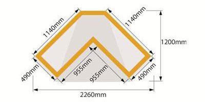 Balmoral Arbour Dimensions