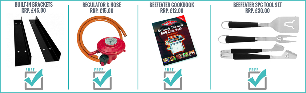 FREE With This Beefeater BBQ
