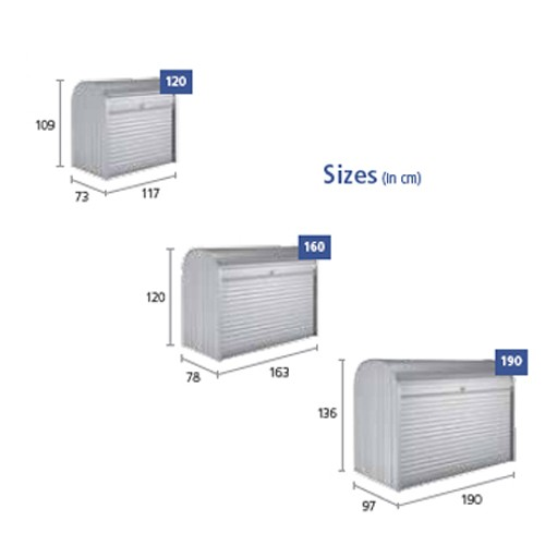 Biohort Storemax dimensions