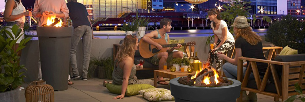 Cosidrum 70 Gas Fire Pit from Qubox