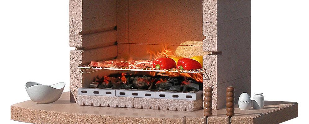 Sunday Desert Crystal Masonry BBQ From Qubox
