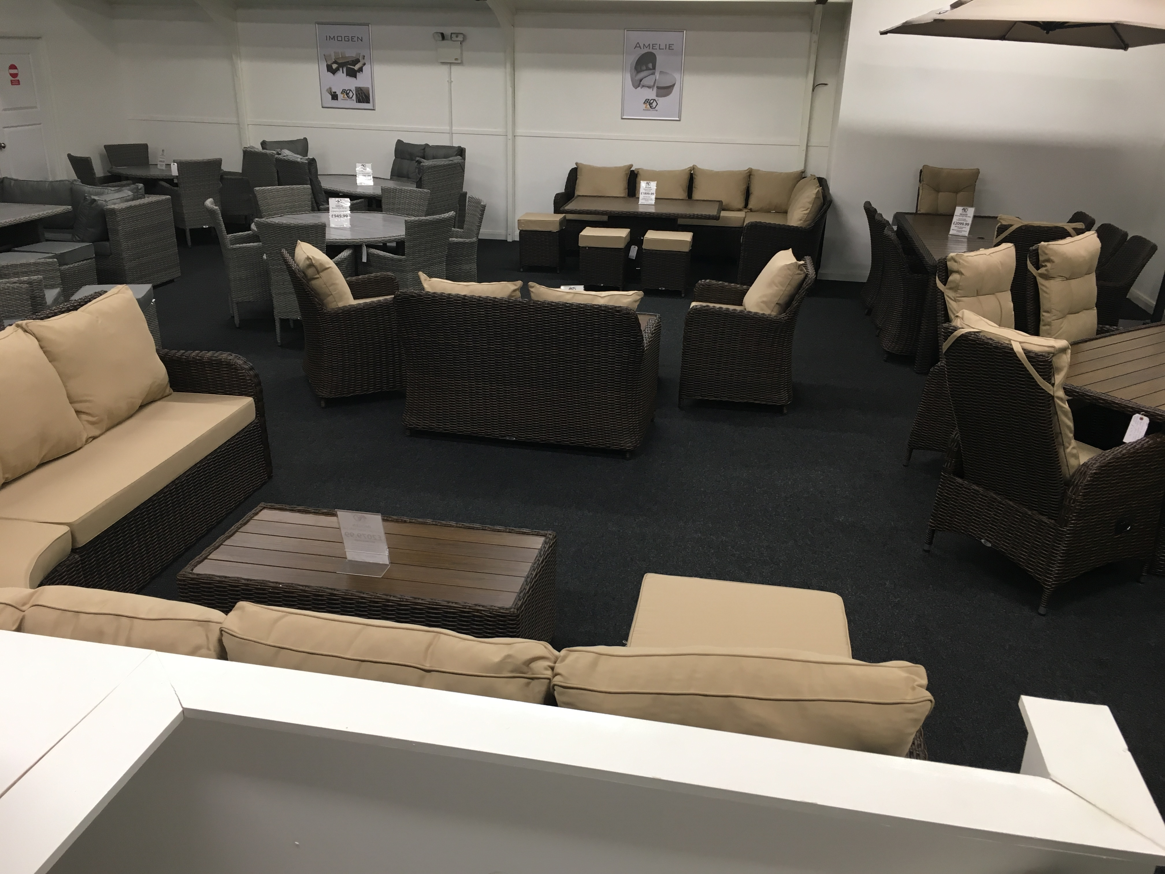 Qubox Showroom Rattan Furniture