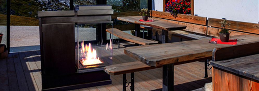 Muztag Outdoor Fire Heaters From Qubox