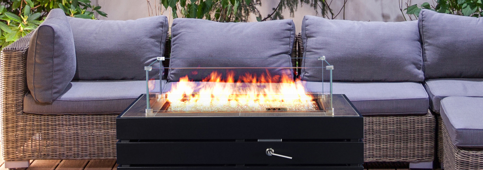 Muztag Outdoor Fire Tables From Qubox