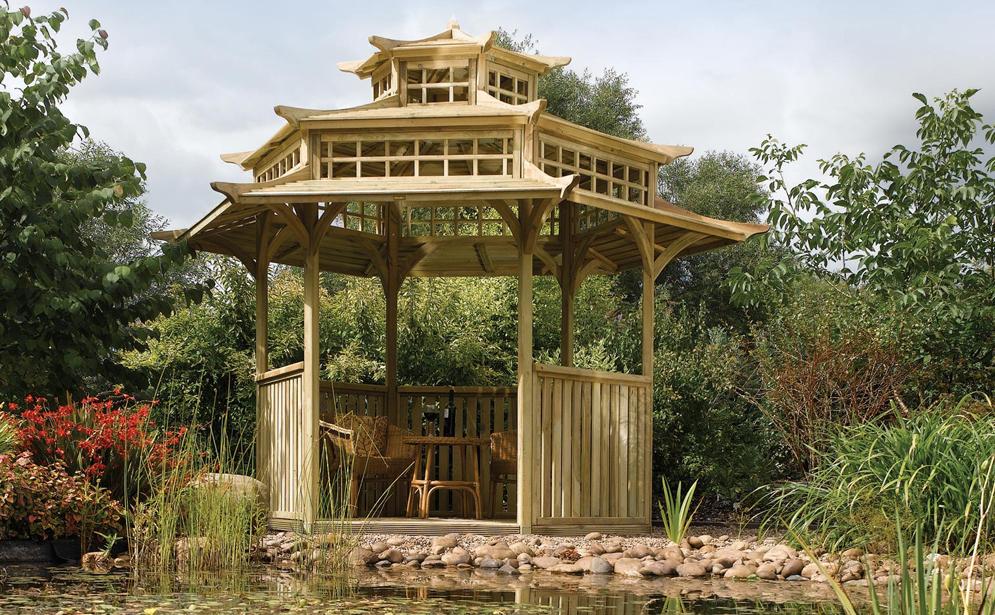 Oriental Pergoda by Rowlinson