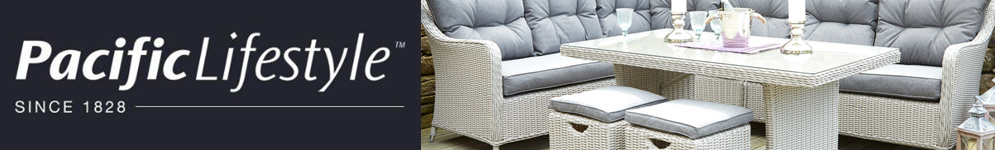 Pacific Lifestyle Garden Furniture from Qubox