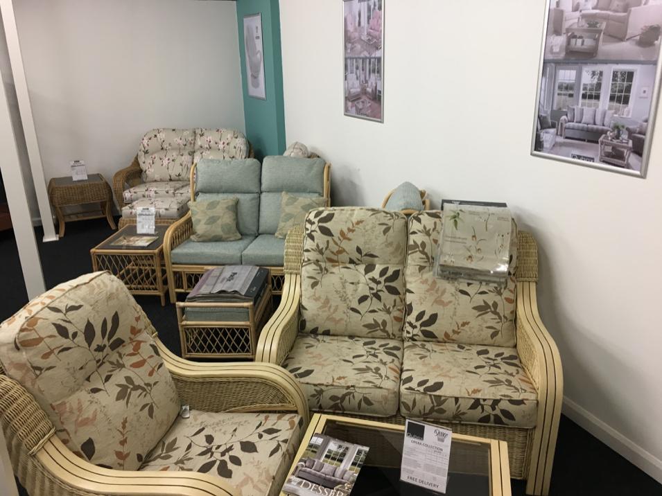 Qubox Showroom Cane Furniture