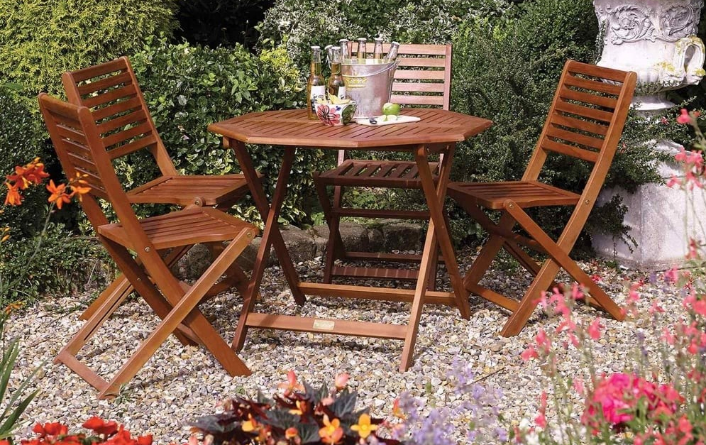 Plumley Four Seater Set from Rowlinson