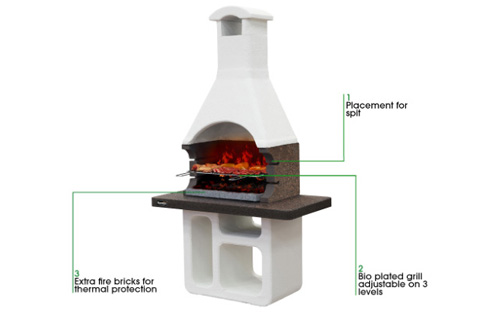 Sunday Rio Masonry BBQ Specifications From Qubox
