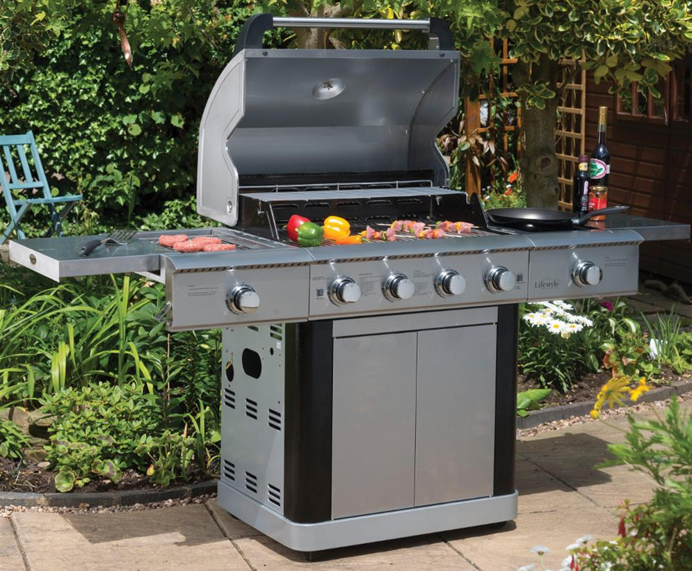 Lifestyle St Lucia Stainless Steel BBQ