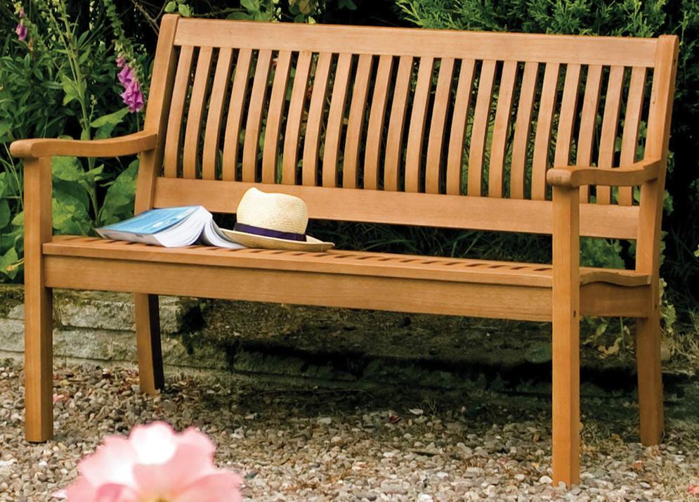 Willington Hardwood Garden Bench