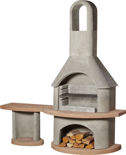 Buschbeck Carmen Masonry Barbecue with Side Table (1615410)