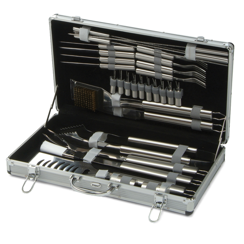 Lifestyle 30pc Stainless Steel BBQ Tool Set (LFS157)