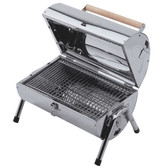 Lifestyle Explorer Stainless Steel Charcoal Portable BBQ (LFS105)
