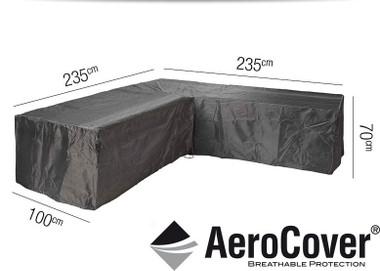 Aerocover Protective Cover for Garden L-Shape Set 235x235x100x70Hcm (18-C-7940)