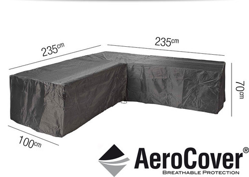Aerocover Protective Cover for Garden L-Shape Set 235x235x100x70Hcm (18-C-7940)