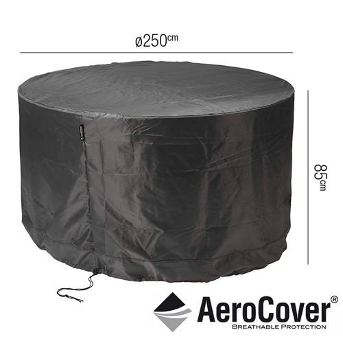 Aerocover Protective Cover for Round Garden Set 250 x 85cm
