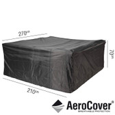 Aerocover Protective Cover for Garden Lounge Set 270 x 210 x 70cm (18-C-7938)
