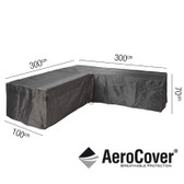Aerocover Protective Cover for Garden L-Shape Set 300 x 100 x 70cm (18-C-7943)