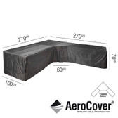 Aerocover Protective Cover for Trapeeze Lounge Set 270 x 100 x 70cm (18-C-7951)