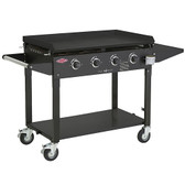 Beefeater Clubman 4 Burner Gas BBQ Black (16640)