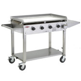 Beefeater Clubman 4 Burner Gas BBQ Stainless Steel (16440)
