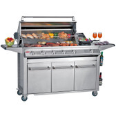 Beefeater Signature SL4000S 6 Burner Gas BBQ With Side Burner (30060)