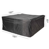 Aerocover Protective Cover for Garden Set 180 x 190 x 85cm (18-C-7920)