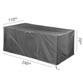 Aerocover Protective Cover for Garden Table 240 x 110 x 70cm (18-C-7926)