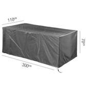 Aerocover Protective Cover for Garden Table 300 x 100 x 70cm (18-C-7928)