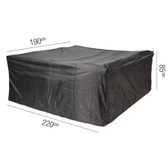 Aerocover for Rectangle Garden Set 220x190x85cm (18-C-7921)