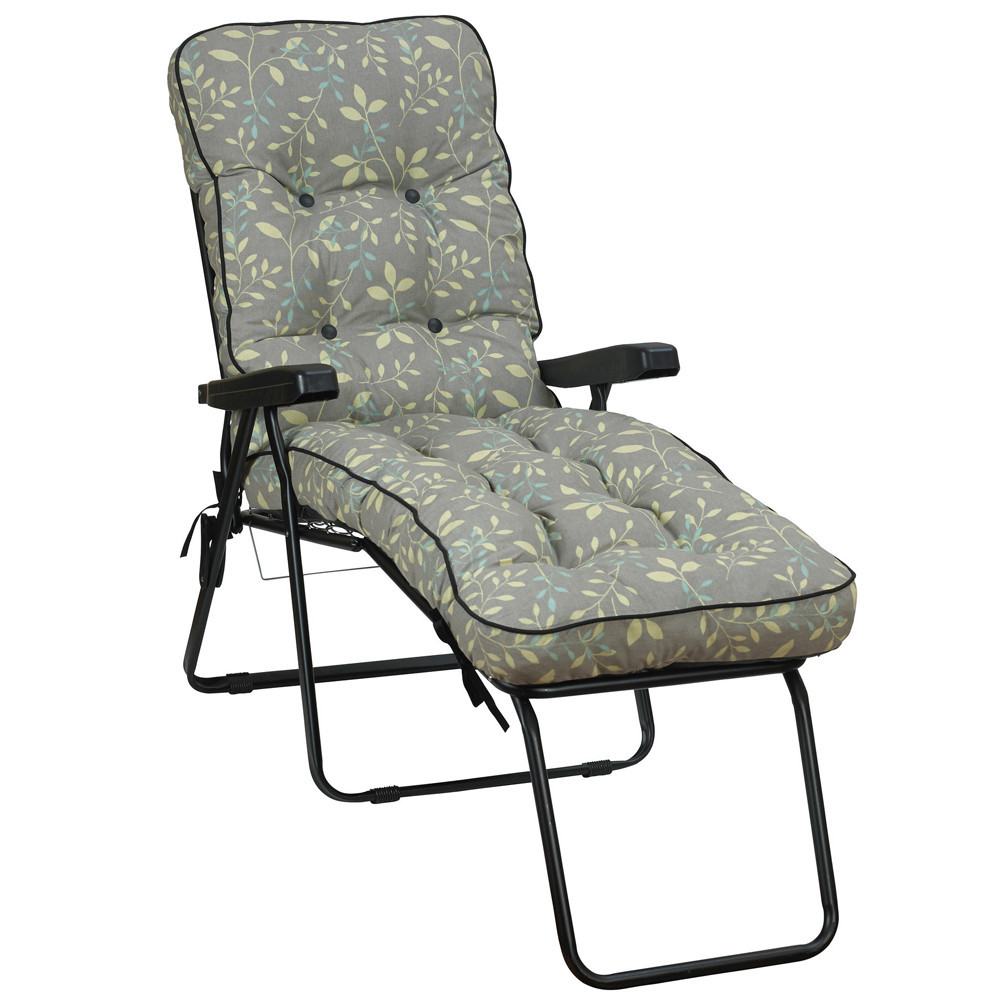 256a5c32f54c Glendale Deluxe Garden Lounger Chair Country Teal (GL1324). Loading zoom