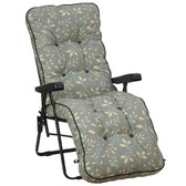 Deluxe Garden Relaxer Chair Country Teal (GL1325) by Glendale