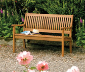 Willington Hardwood Garden Bench (WILBENCH12) from Rowlinson