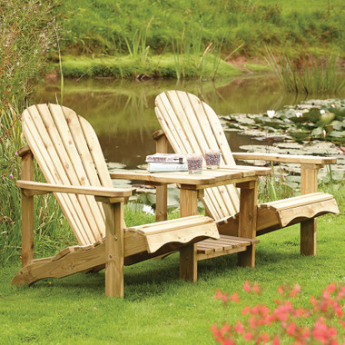 Adirondack Softwood Companion Seat (SWADIR02) from Rowlinson