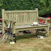 Softwood Three Seater Garden Bench (SWBENCH15) by Rowlinson