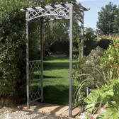 Wrenbury Metal Garden Arch (ARCHWR) from Rowlinson