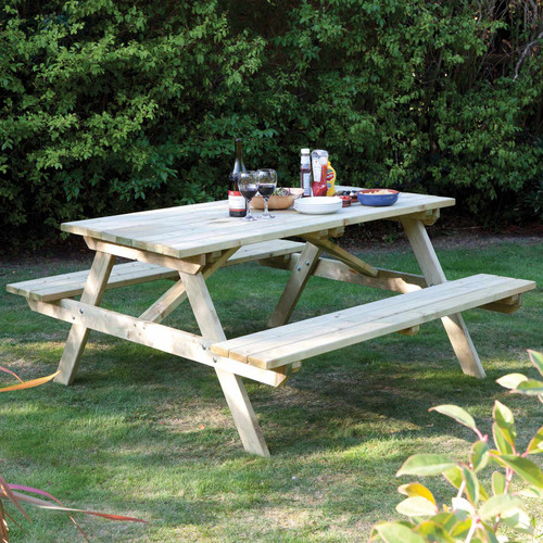 Rowlinson 4FT Picnic Bench (PTSE12)