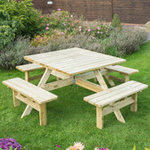 Rowlinson Square Picnic Table (PTSQUARE1)